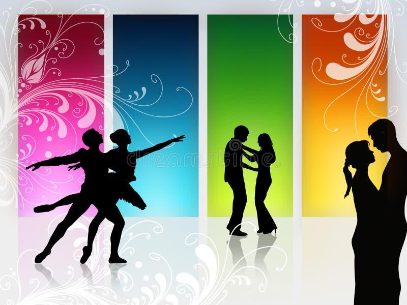 Love dance royalty free illustration