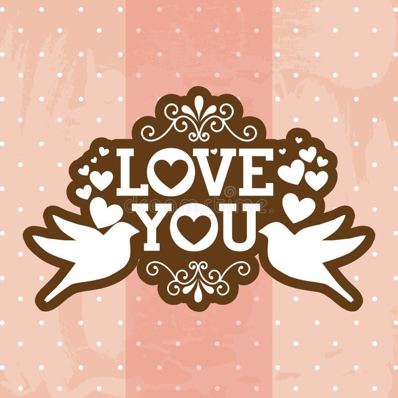 Love royalty free illustration