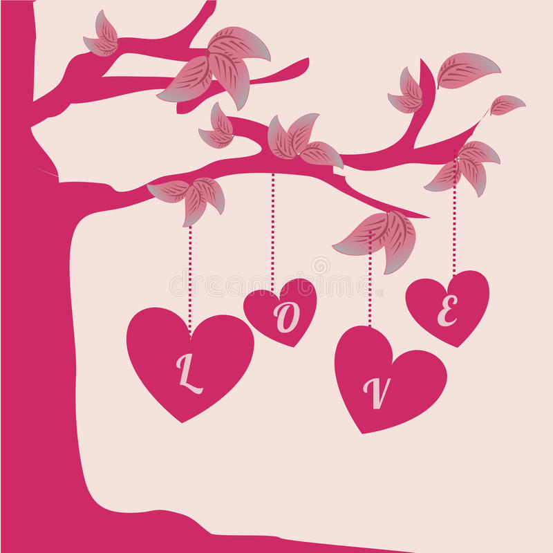 Love design. Over pink background vector illustration vector illustration
