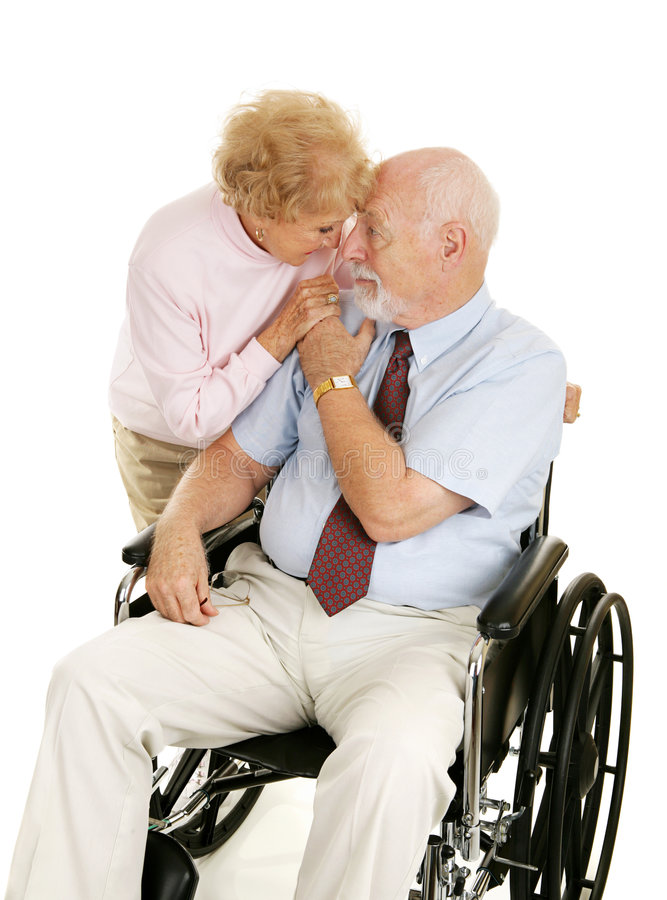Download Love & Devotion stock image. Image of handicapped, commitment - 4901679