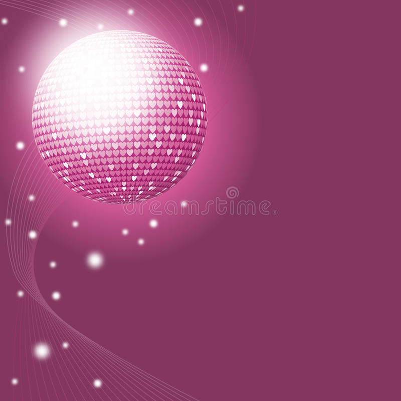 Download Love Disco stock vector. Image of lifestyle, party, decoration - 22767023