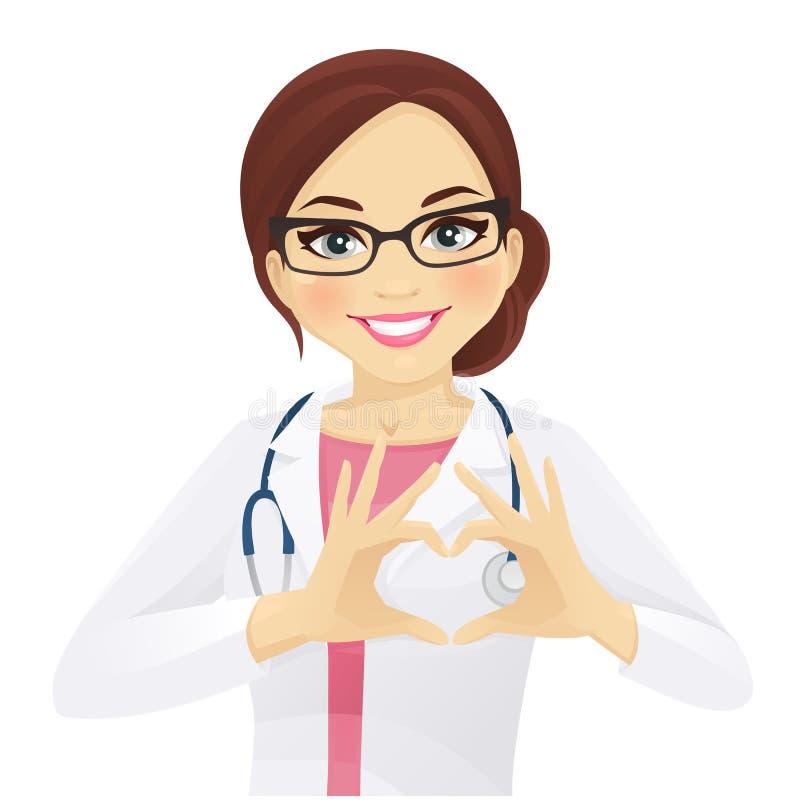 Love doctor stock illustration