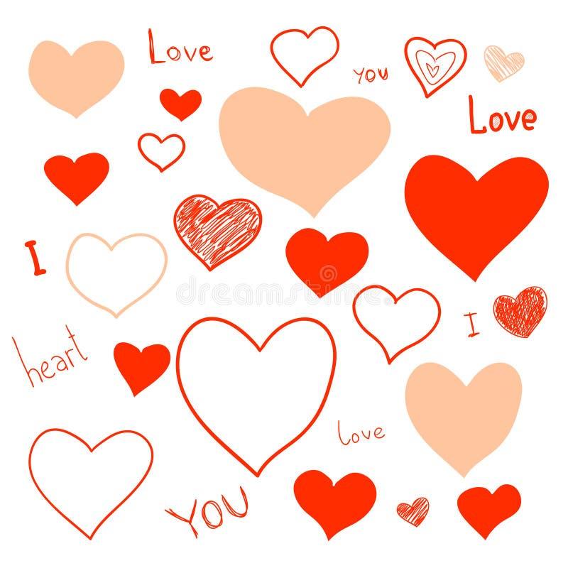 Free Love Doodles Stock Photos - 28844233