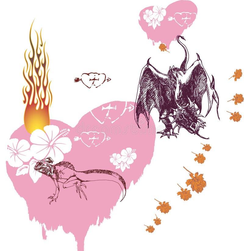 Free Love Dragon 2 Stock Photo - 6215780