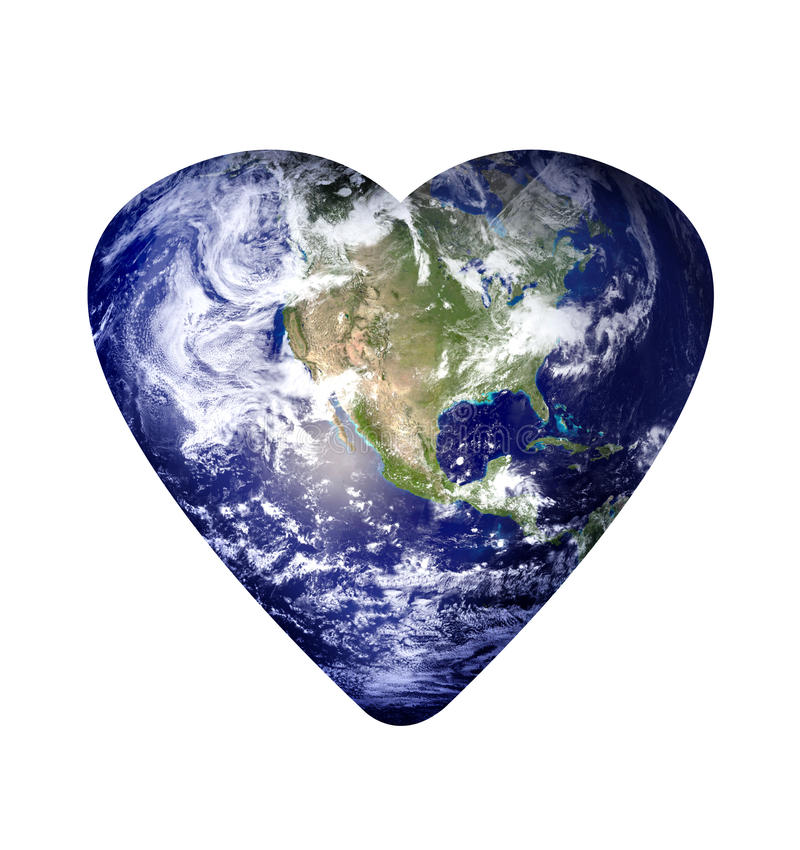Love earth royalty free stock image