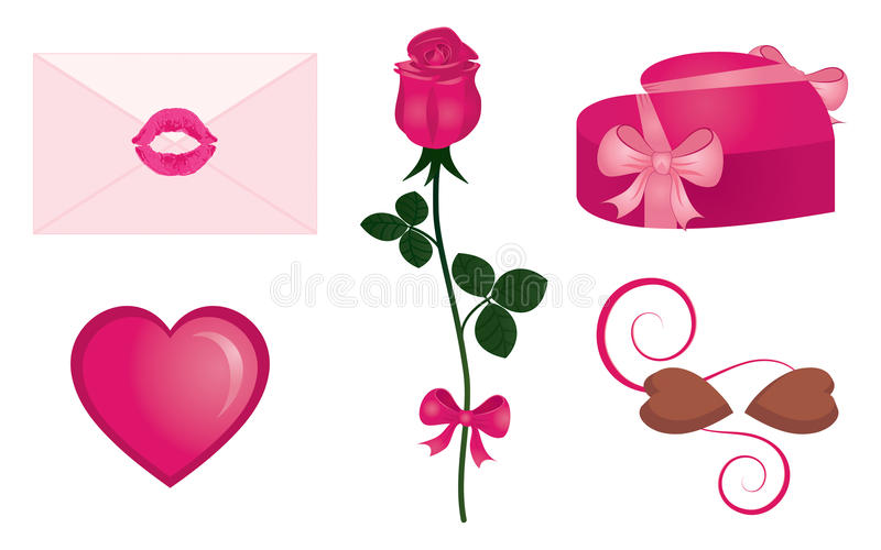Download Love elements stock photo. Image of candy, love, gift - 11692182