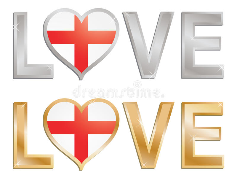 Download Love england stock vector. Image of heart, love, concept - 13010684