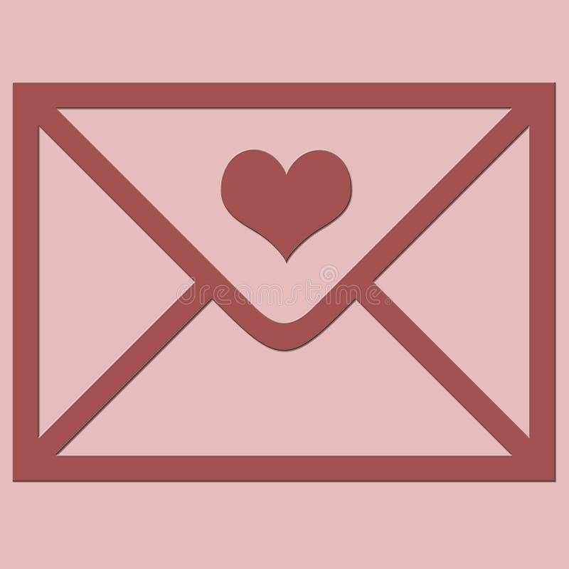 Love envelope.