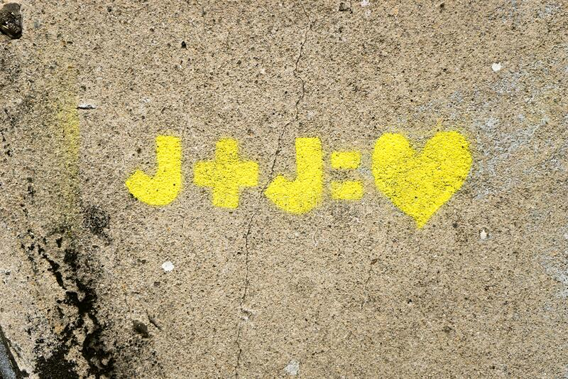 Love Equation On Wall Free Public Domain Cc0 Image