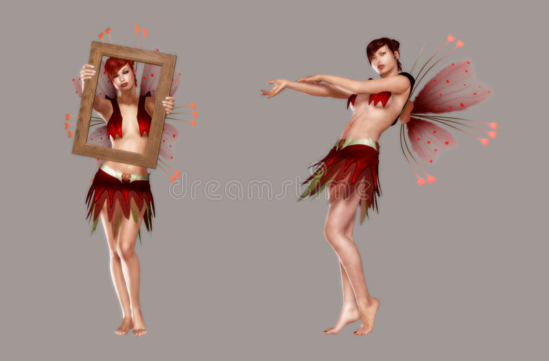 Love Fairy stock photos