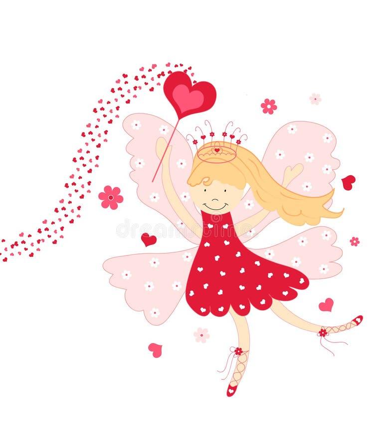 Love fairy stock illustration