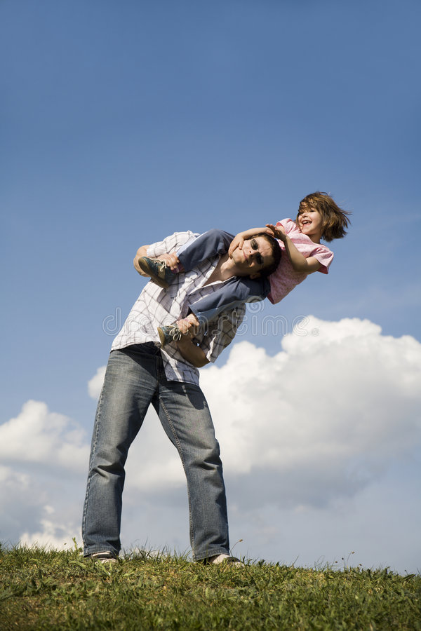 Download Love of father and child stock photo. Image of positivity - 9343316