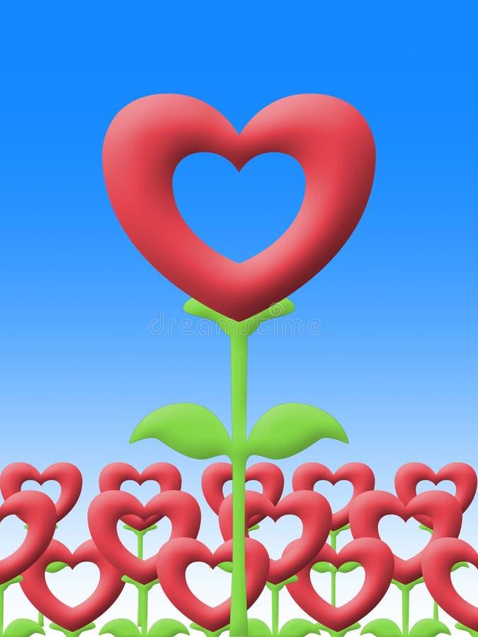Download Love Flower In Garden Illustration Image Stock Illustration - Image: 29553529