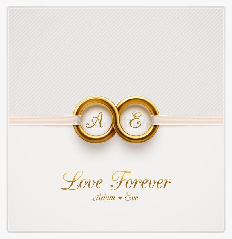 Love Forever vector illustration