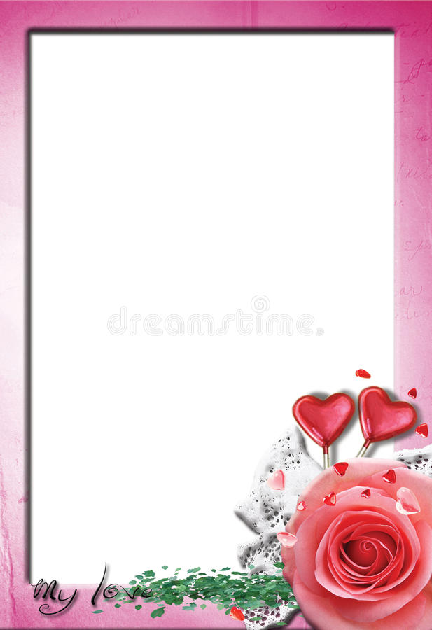 Free Love Frame No1 Stock Photography - 22236322