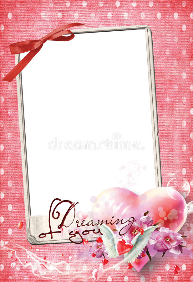 Free Love Frame No2 Stock Image - 22774951