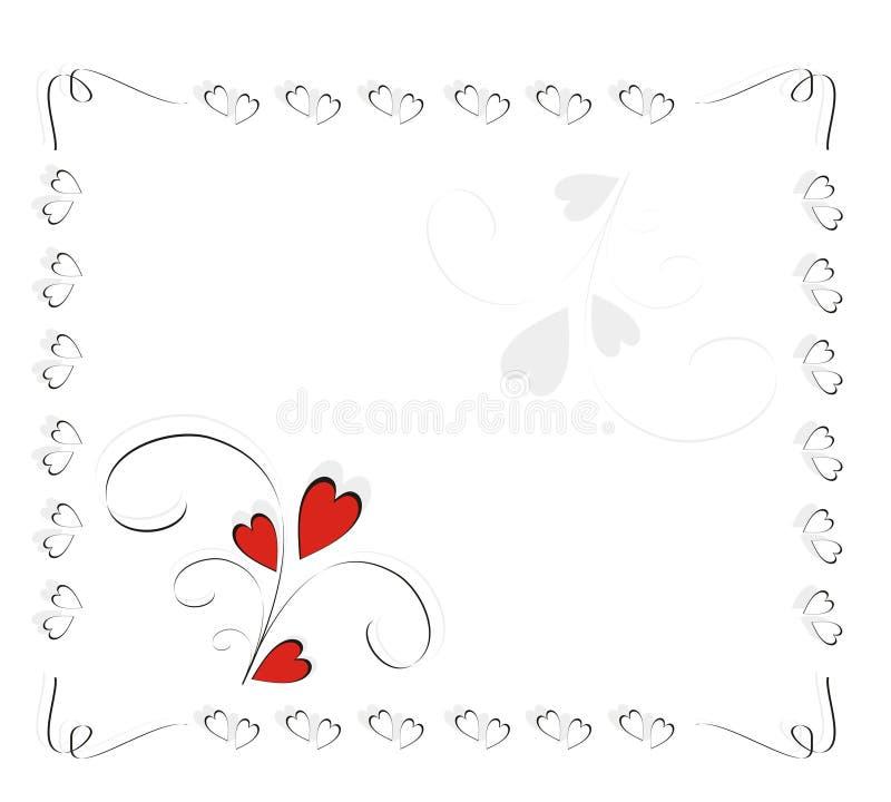 Love framework royalty free illustration