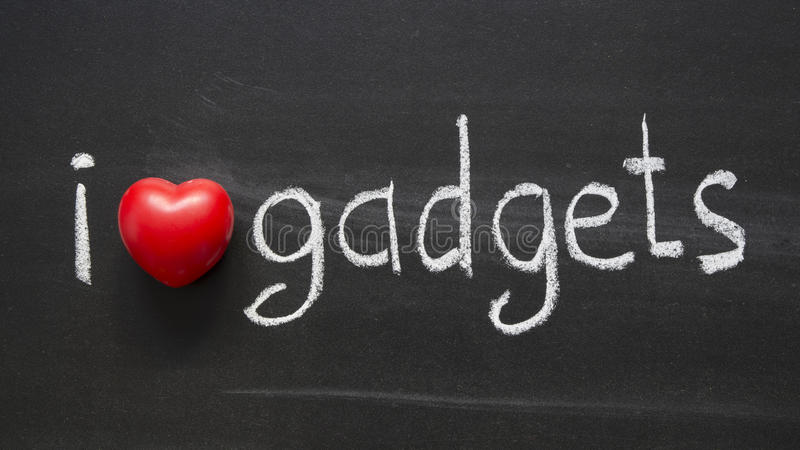 Download Love gadgets stock photo. Image of tool, blackboard, symbol - 28072694