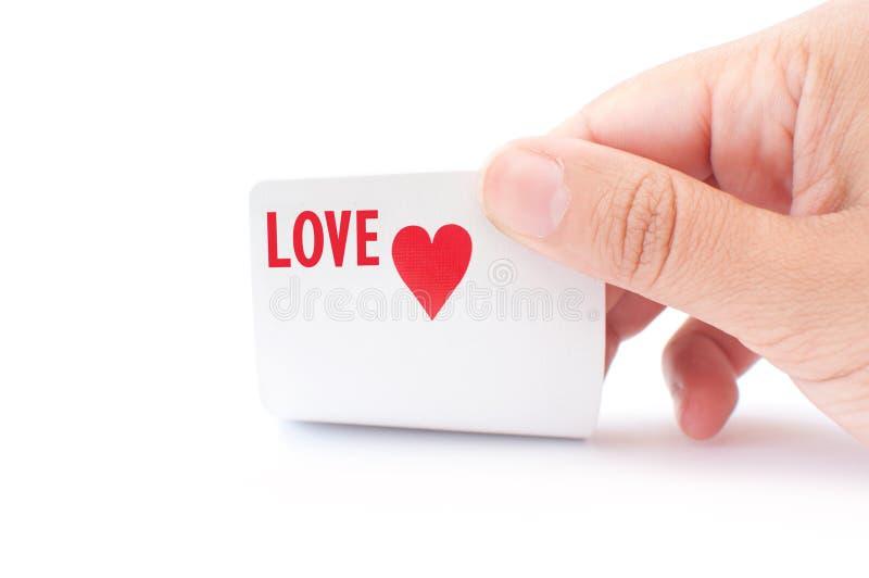 Love gamble stock photo