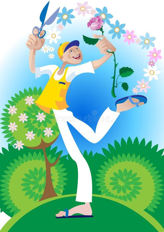 Download Love Gardener Royalty Free Stock Image - Image: 15576306