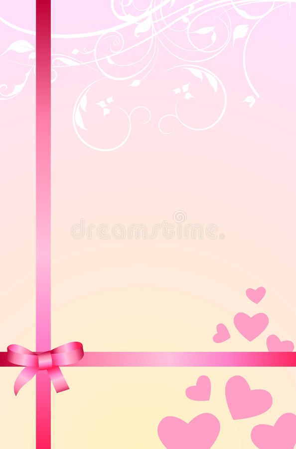 Love Gift Romantic Background Royalty Free Stock Photo