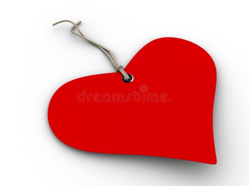 Download Love gift tag stock illustration. Illustration of gift - 6668489
