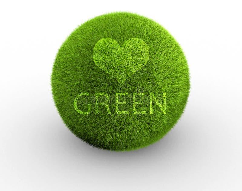 Love Green Stock Image