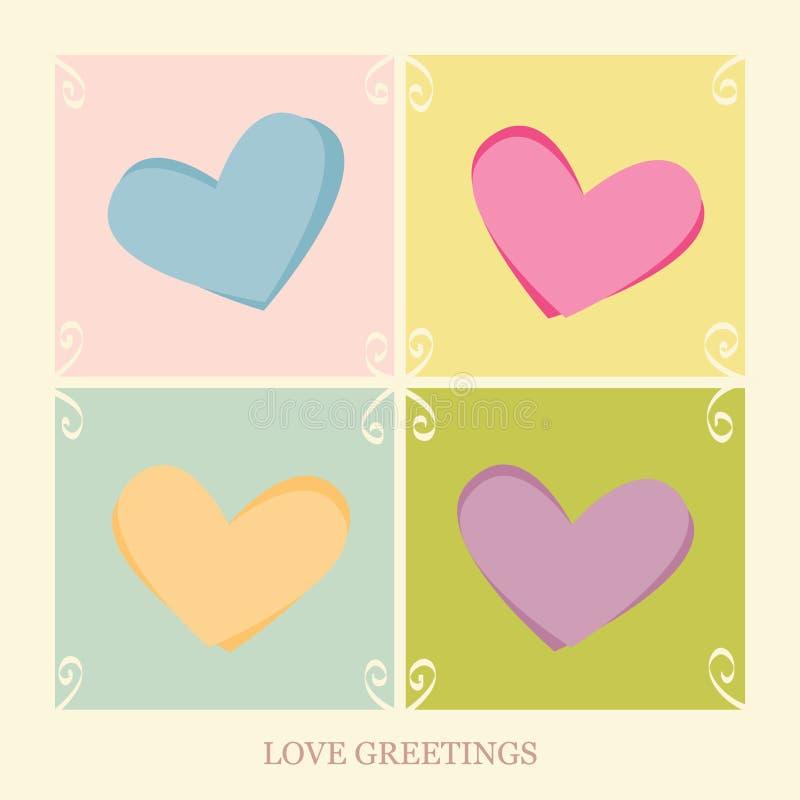 Love Greetings royalty free stock photos