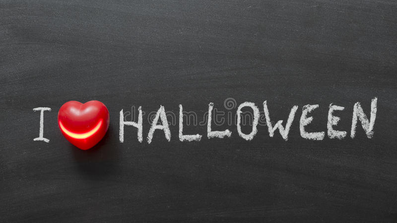 Love Halloween royalty free stock photography