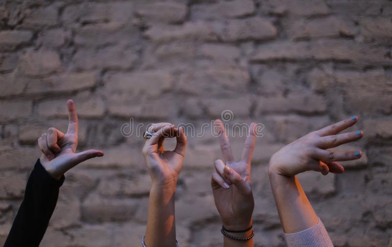 Love Hand Sign Free Public Domain Cc0 Image