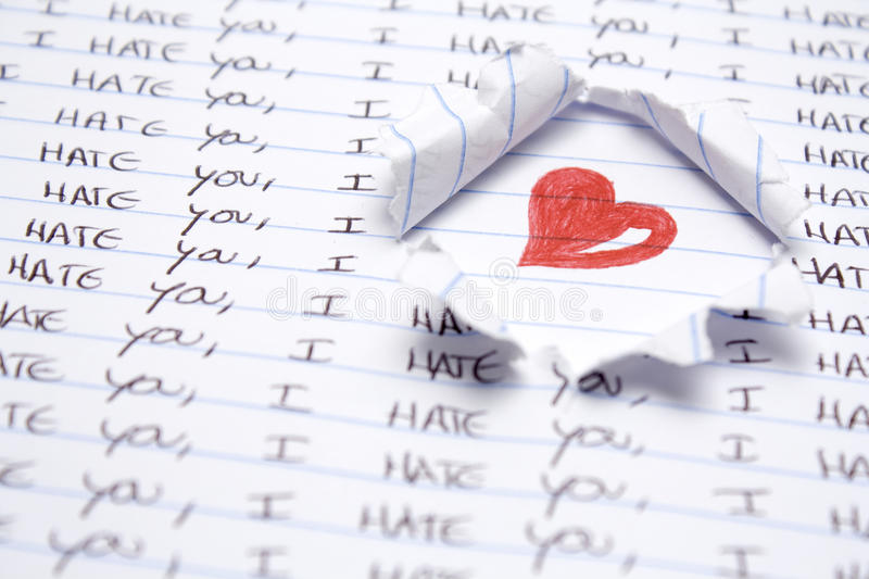 Download Love And Hate Stock Image - Image: 11729271