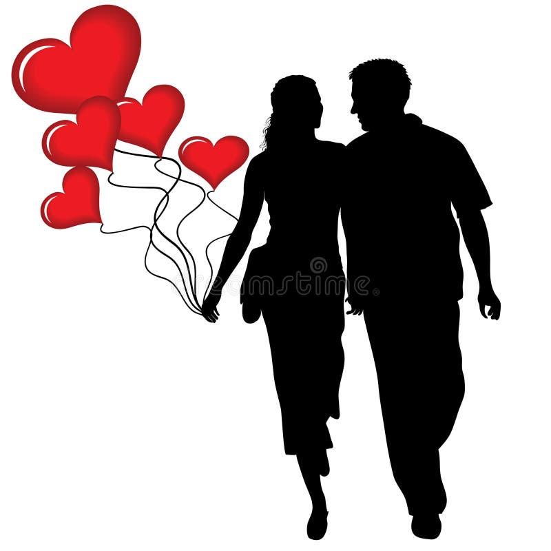 Love heart royalty free illustration