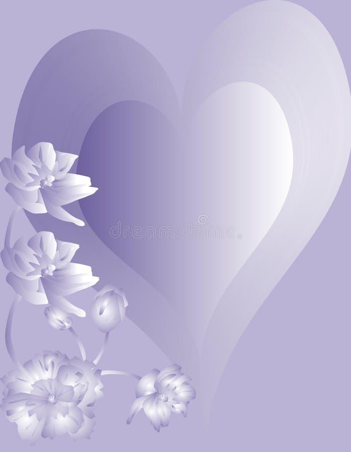 Download Love Heart stock illustration. Image of floral, card, boyfriend - 3887035