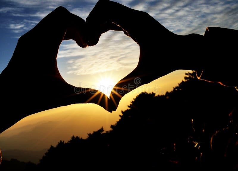 Love&heart zdjęcie royalty free