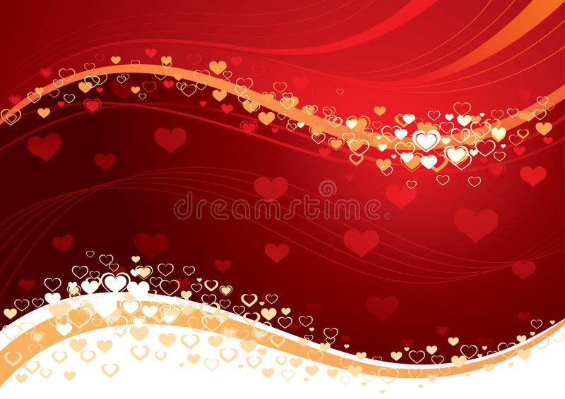 Love heart background stock image