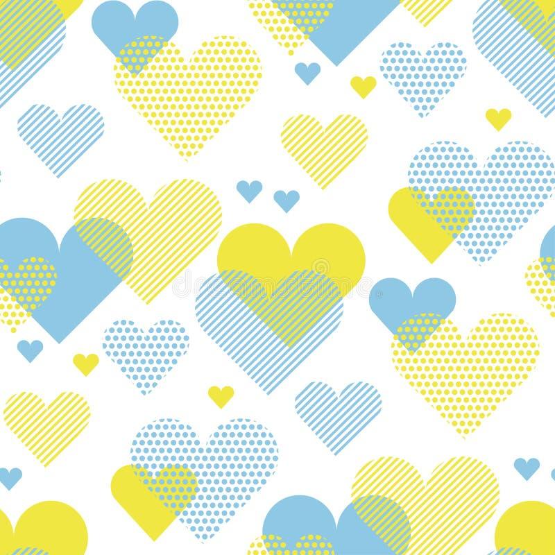 Love heart concept vector illustration for backdrop. royalty free illustration