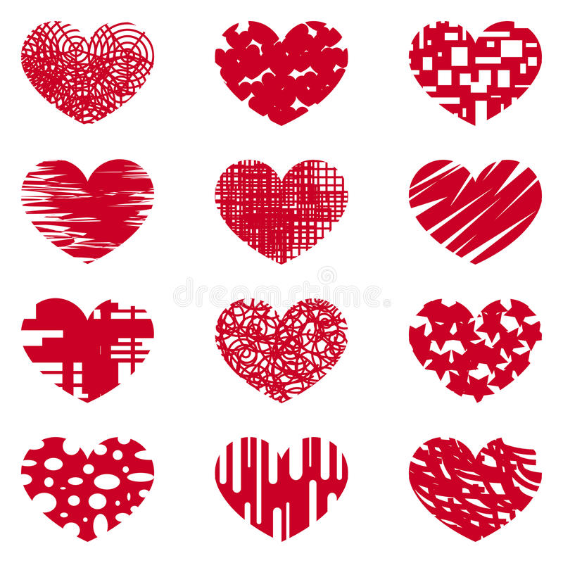Love, heart, love, affection, symbol, special logo royalty free illustration