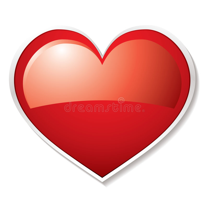 Download Love Heart Shadow Royalty Free Stock Photography - Image: 9014627