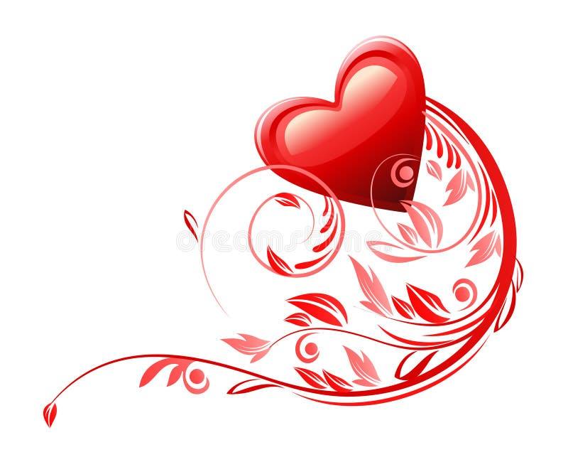 Love Heart Symbol Stock Illustration Illustration Of Flourish