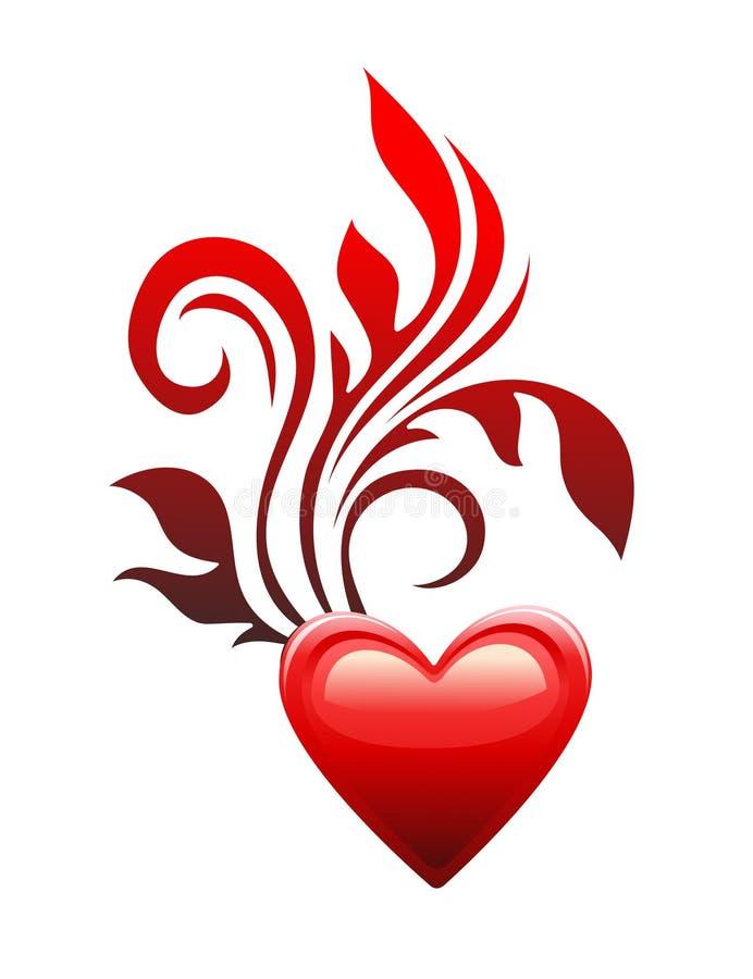 Love Heart Symbol Stock Illustration Illustration Of Cute 12363933