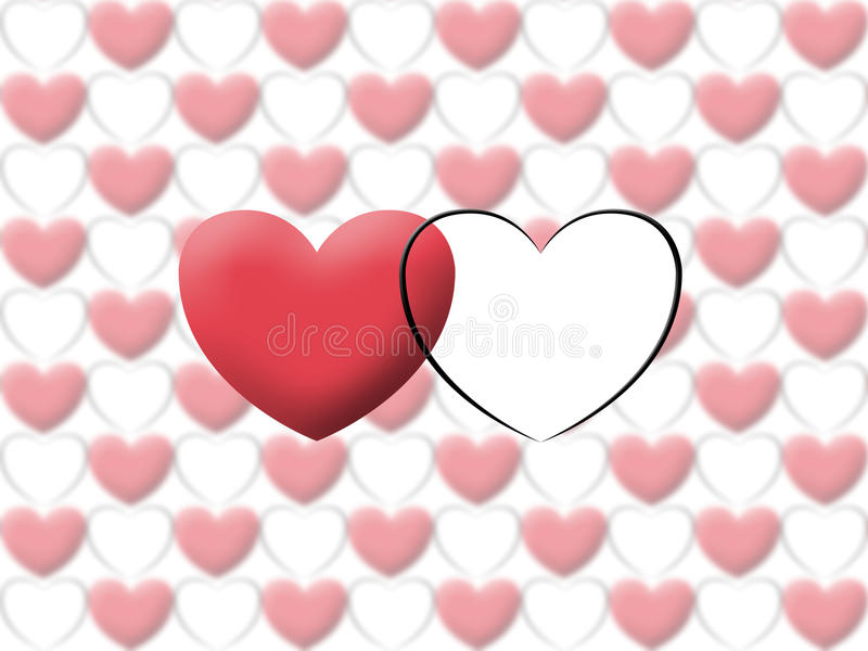Download Love Heart Valentine Illustrate Image Stock Illustration - Image: 29553563