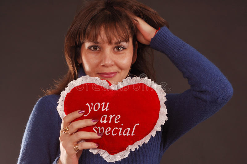 Love Heart Woman stock photos