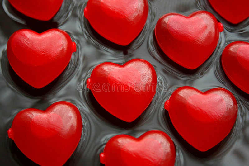 Download Love Hearts stock image. Image of devotion, entwine, passionate - 4491241