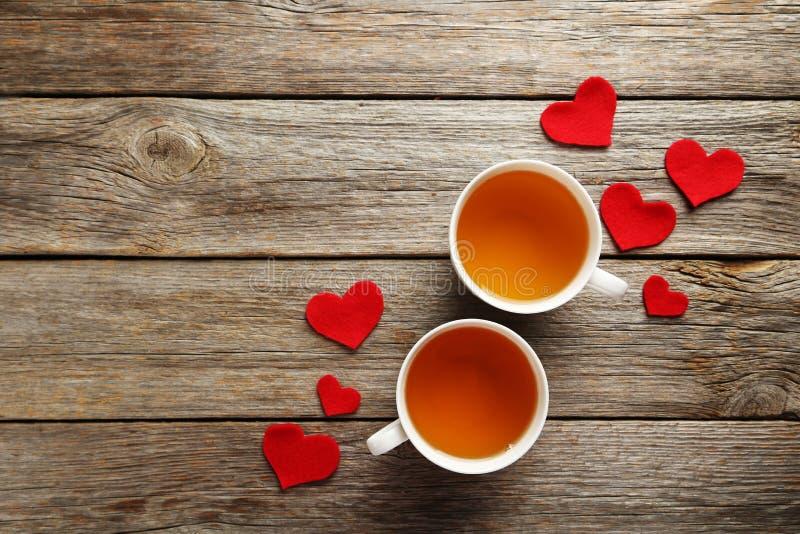 Love hearts stock photo