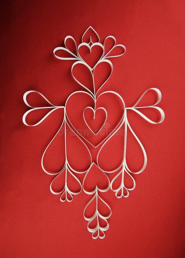 Love hearts mosaice