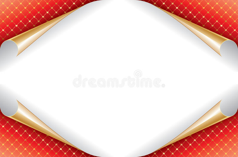Love Hearts background. Love Hearts with red background royalty free illustration