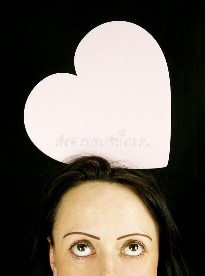 Download Love on her mind stock image. Image of celebration, background - 22964045