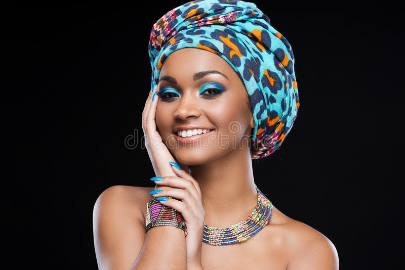 In love with her style. stock image