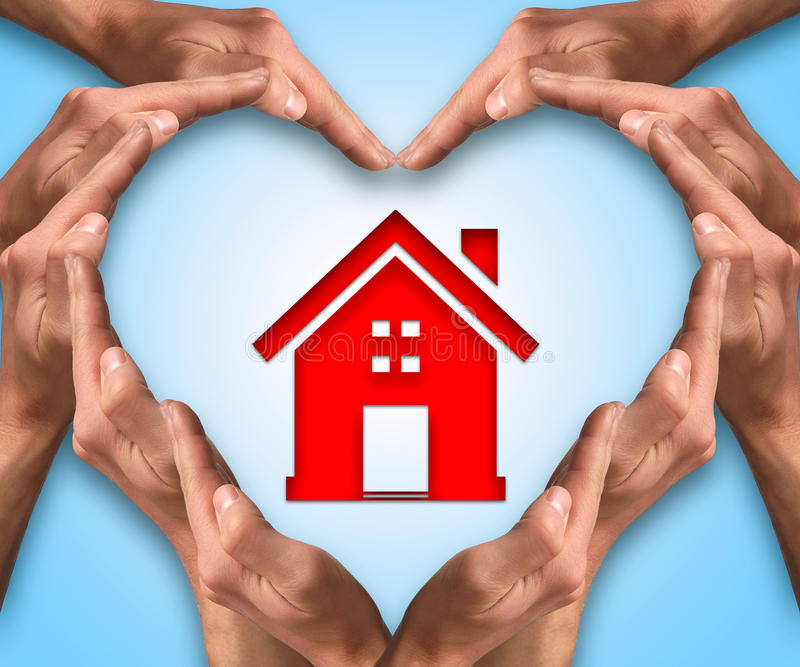 Love home royalty free stock image