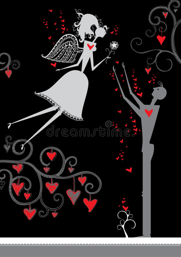 Download Love illustration. stock vector. Illustration of love - 37019398